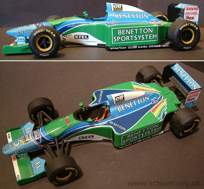 The 39;Benetton Sportsystem /KTEL39; Logo Version without barge boards