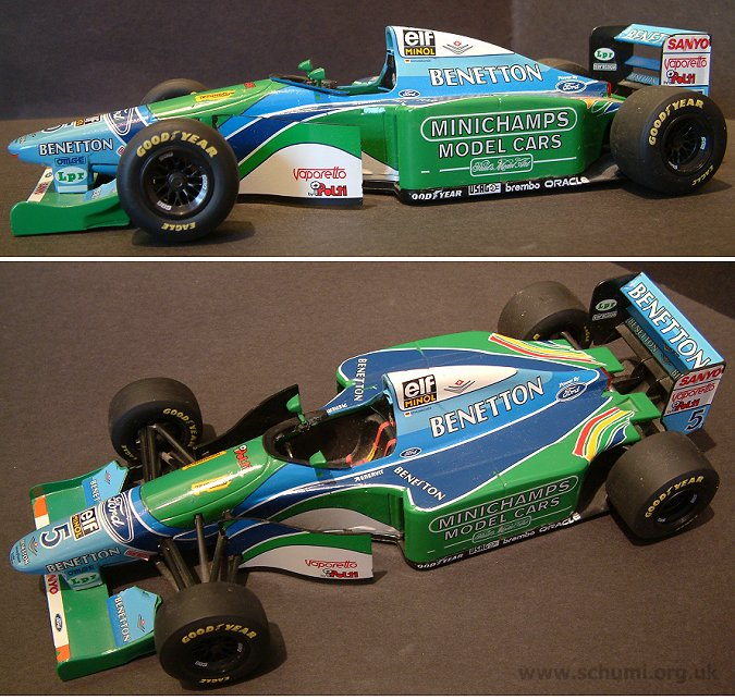 schumi.org.uk  Michael Scumacher  Simply The Best  1994 Cars
